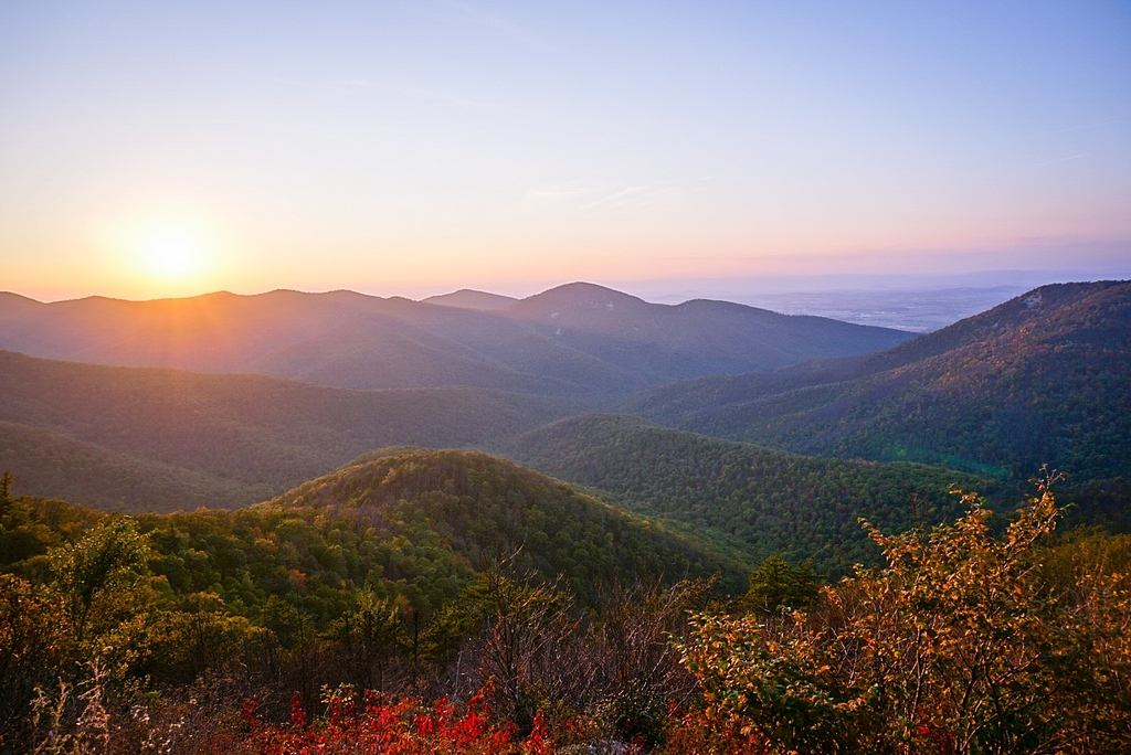 Fall at Loft Mountain- Shenandoah National Park