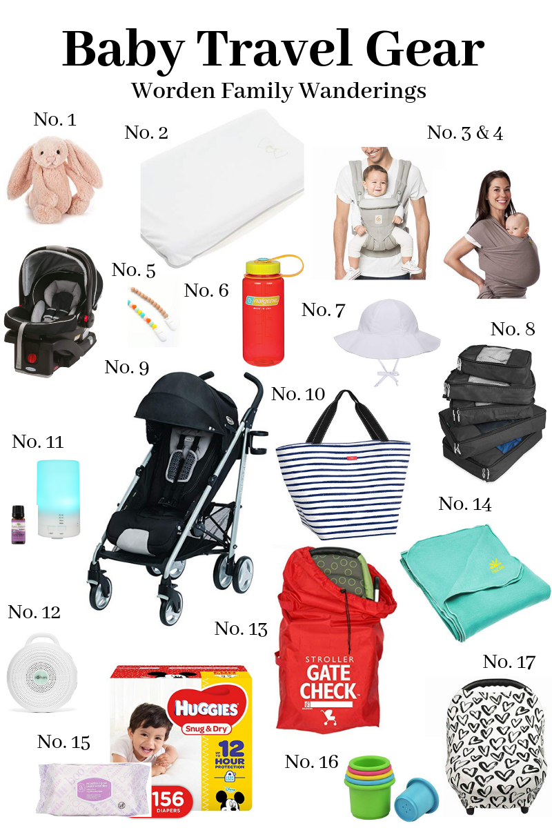 Traveling with Baby- Our Favorite Gear