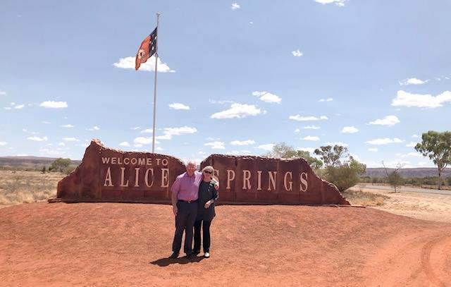 Doug and Pam's Visit- Alice Springs, NT, Australia