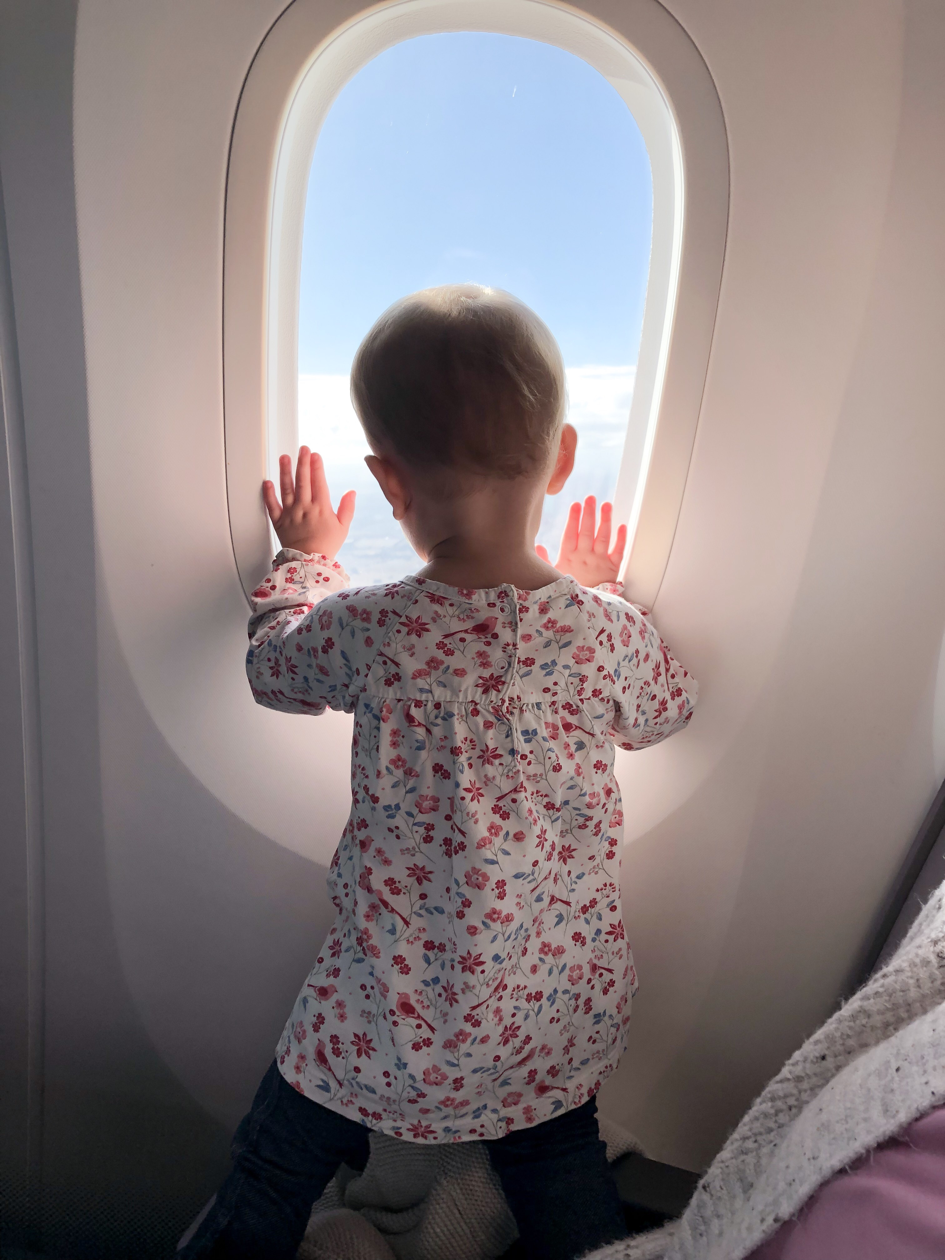 Traveling with Baby- Flying Overseas