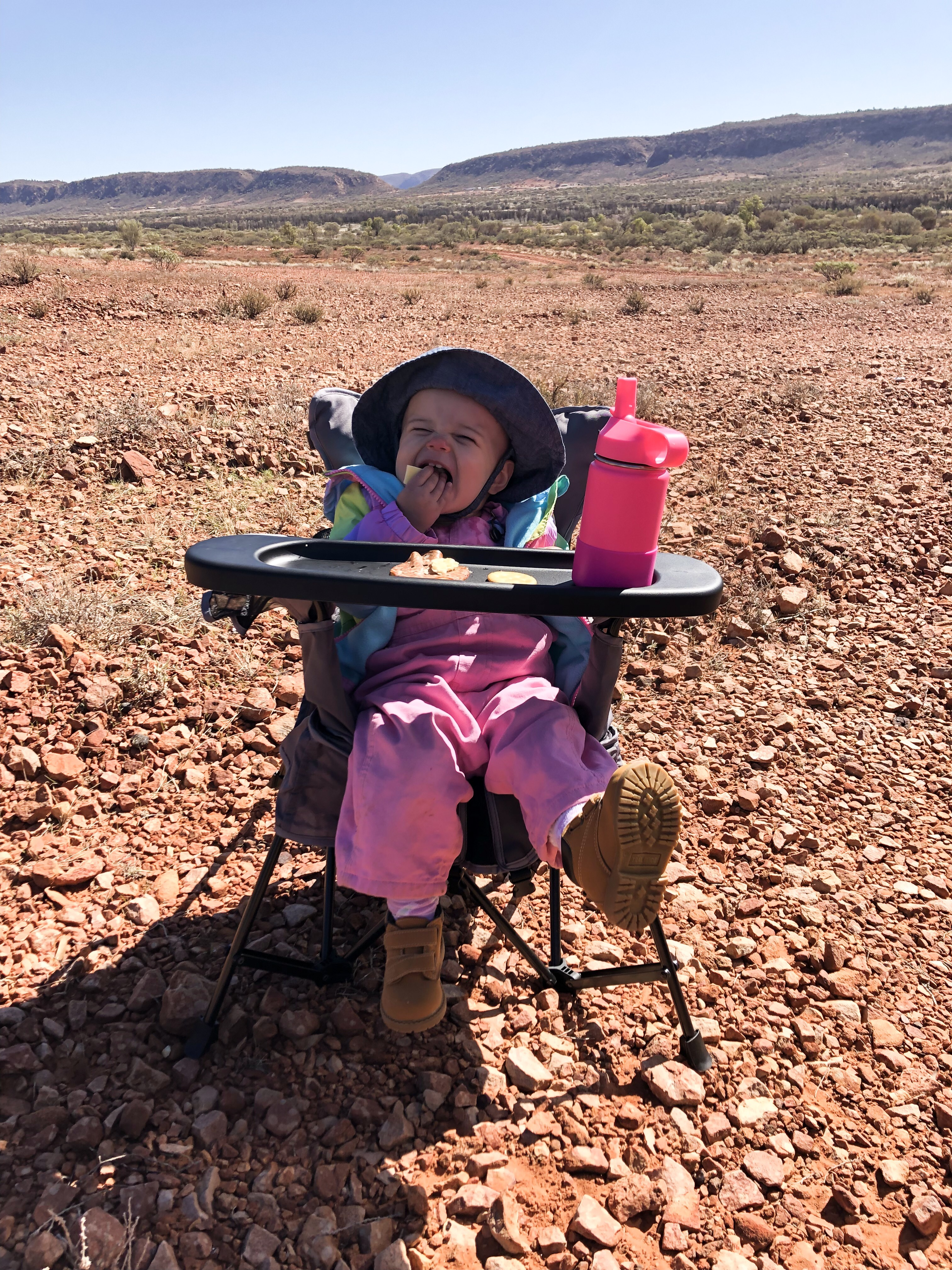Picnic at the Claypans- Alice Springs, NT, Australia